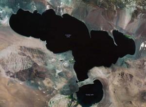 Монгольское озеро Хяргас-Нуур