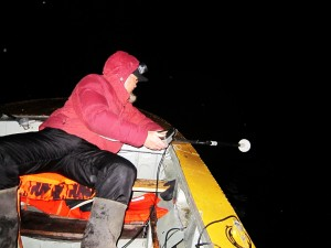 Монстр есть! Ночное эхолотирование на озере Лабынкыр