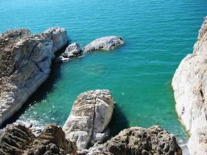Вид на южную каменную бухту