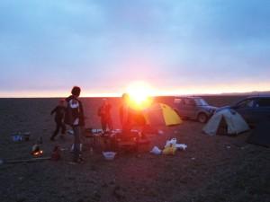 Закат на Хяргас-Нууре