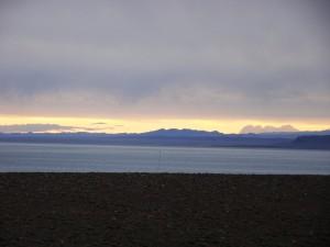 Цвета озера Хяргас-Нуур