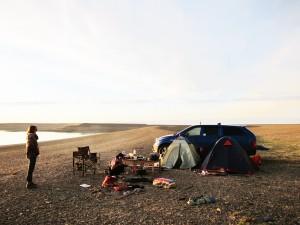 лагерь на Протоке